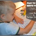 Play to Write-Write to Read Week 1 (Line Mazes & Partner Journaling)