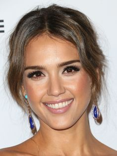 jessica alba pretty makeup