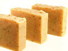 Gardener's Hand Soap:  100% natural soap with Amish cornmeal, aloe, comfrey, and eucalyptus-citrus essential oils, by SarvaSoap, $7.50