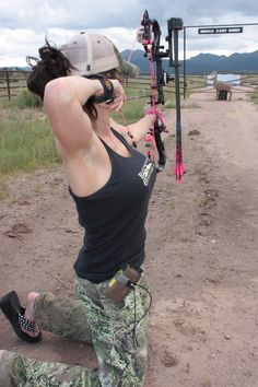 girl, fish, archeri, bowhunt, bows, bow hunting tips, bow hunting for women, gun, countri
