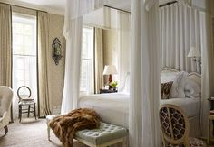 I honestly believe this is one of the prettiest bedrooms in New York City.