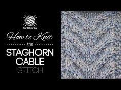 knit stitch, cabl stitch