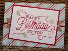 Lots of Stampin Up quick & easy birthday cards with Another Great Year stamps & Fresh Prints DSP by Di Barnes colourmehappy #stampinupau #birthdaycards #colourmehappy