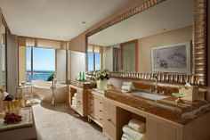 Earl Suite Bathroom at the Mulia Bali