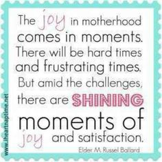 I love being a MOM!!!!