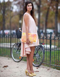 Beautiful drape and color