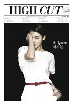Ha Ji Won for High Cut