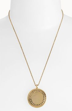 House of Harlow 1960 Metal Sunburst Necklace in Gold by Swank Boutique Online