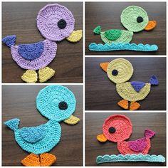 Crochet ducks