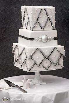 Brooklyn cake #weddingcakes