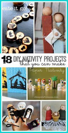 18 DIY Nativity Proj