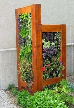 This would be great to hide the ugly electrical box in my backyard.  I want to hide my AC unit with this!!