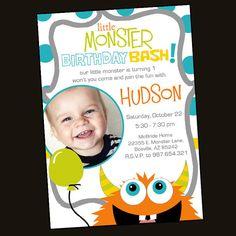 Monster Birthday Invite!