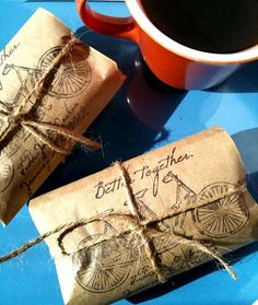 coffee favors or give aways.. for coffee lovers..or could be tea bags... i guess