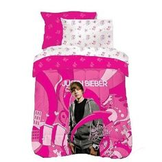 #8: Justin Bieber 'Justin's World' Microfiber Comforter Set Twin Size