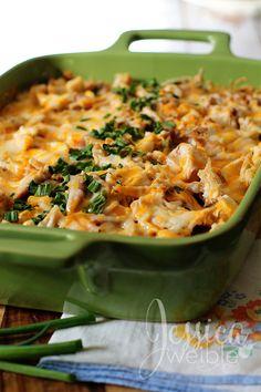 Chicken Tamale Casserole - easy weeknight dinner the kids will love