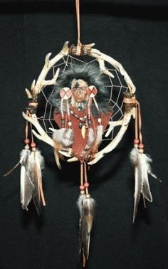 Dreamcatchers, from Native American culture, are considered good luck, because they catch the negative images from dreams.