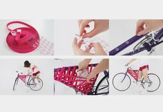 DIY Bike Storage:  Reel, by Yeongkeun Jeong