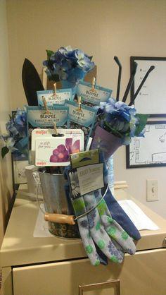 Gardener's Gift Basket ~ Seed Packets, Garden Tools, Gloves, Gift Card to a Garden Center, etc...