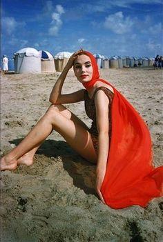 Photo Mark Shaw, Deauville, 1950