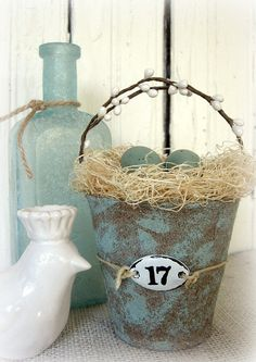 bird nest basket