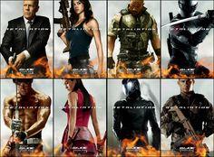 G.I. Joe: Retaliation character posters
