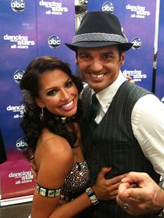 MELISSA and Tony Dovolani on Dancing With the Stars