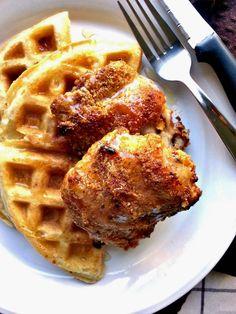 Gluten Free #Paleo Chicken and Waffles!