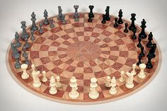 Three Man Chess, let the games begin! #chess