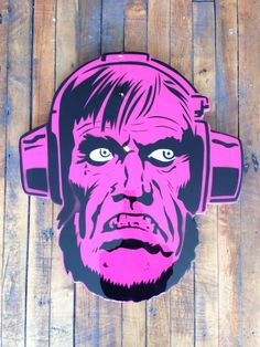 """""""Klaw"""" by Jason Rowland  Aerosol, stencil and poly resin coating on wood  Available at GalerieF.com"""