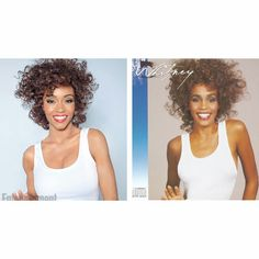 FIRST LOOK At Yaya DaCosta Alafia As Whitney Houston For LIFETIME Biopic. Did she nail the look or what? #whitneyhouston #yayadacosta #biopicfilms #lifetimemovies