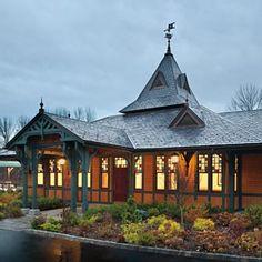 Tuxedo Station, Tuxedo, NY, restored to its original beauty