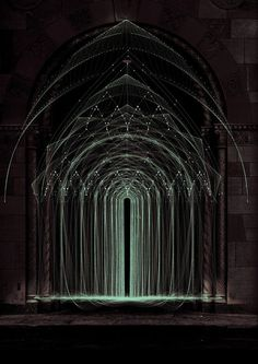 Arcane Temple by Tatiana Plakhova  // midnightweeds:elauw1991