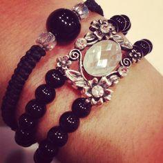 stackable bracelet set by AroundMyWrist on Etsy, 20.00