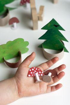 3D cokoliv, třeba les.