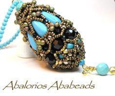 Fatima Pendant - diseño de Simone de Perle4U