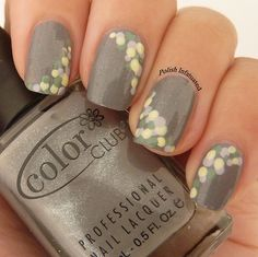 dots on grey