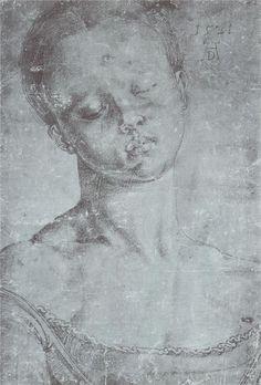 Albrecht Dürer: St. Barbara, 1521.