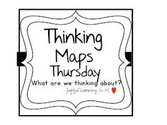 Joyful Learning In KC: Thinking Maps Thursday