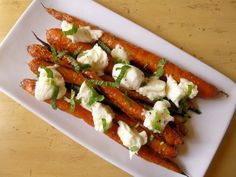 Roasted Carrots with Bocconcini