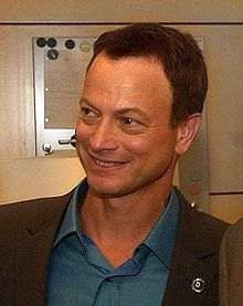 Gary Sinise. Good actor, but I REALLY appreciate him for being Republican (and being so involved in Republican politics), being so patriotic, and being a fun musician. =)
