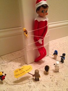 "75 ""Best yet"" Family-Friendly Elf on the Shelf Ideas"