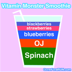 Vitamin Monster Smoothie Recipe