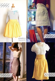 4 more DIY skirts