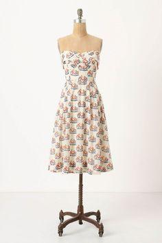 Bike Lane Dress. Anthropology. Oh Anthropology. So cute but soooo expensive.