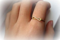 diy infinity wire ring tutorial