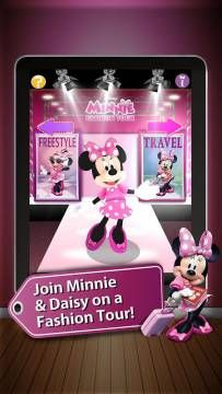 Discount: Minnie Fashion Tour by Disney is now 0.99$ (was 2.99$) - interactive dress-up game featuring Minnie and Daisy. http://www.appysmarts.com/application/minnie-fashion-tour,id_80418.php
