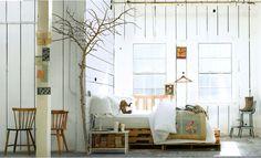 #pallets - Atelier - cozy style