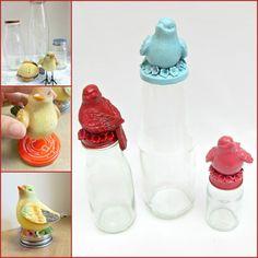 Decorative Jar Tutorial - use this idea , not exact items...