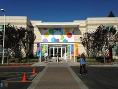 Apple's campus gets dressed up for Tuesday's special event